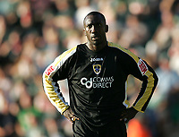 Photo: Lee Earle.<br /> Plymouth Argyle v Cardiff City. Coca Cola Championship. 15/09/2007. Cardiff's Jimmy Floyd Hasselbaink looks dejected after Plymouth scored.