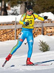 12.12.2010, Biathlonzentrum, Obertilliach, AUT, Biathlon Austriacup, Verfolgung Men, im Bild Vitalii Kozlovskii (UKR, #39). EXPA Pictures © 2010, PhotoCredit: EXPA/ J. Groder