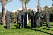 Israel, Tel Aviv, Yarkon park, Ganei Yehoshua, Israeli fallen soldier's memorial