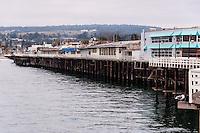 United States, California, Santa Cruz. The Santa Cruz Wharf.