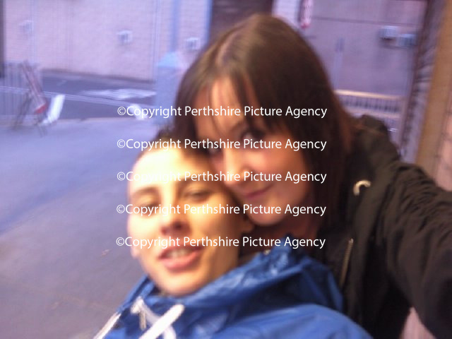 Sam Brooks (left) a female who led her partner Nicole Lindsay (right) into thinking she was a man..<br /> Picture by Graeme Hart.<br /> Copyright Perthshire Picture Agency<br /> Tel: 01738 623350  Mobile: 07990 594431