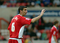 Photo: Kevin Poolman.<br />Swindon Town v Lincoln City. Coca Cola League 2. 28/10/2006. New Swindon caretaker boss Ady Williams.