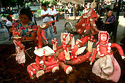 MEXICO, OAXACA, FESTIVALS Festival of the Radish