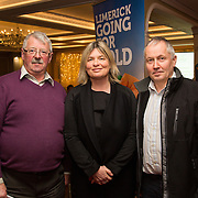 02.03.2017        <br /> Attending the Limerick City and County Councils Annual Tidy Towns Seminar 2017 at the Woodlands House Hotel Adare Co. Limerick were, Pat Casey, Ard Patrick, Mary and Seamus Gordan, Anglesborough. Picture: Alan Place