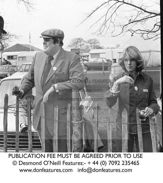 NICHOLAS SOAMES and CAMILLA PARKER BOWLES in 1976.<br /> PUBLICATION FEE MUST BE AGREED PRIOR TO USE<br /> © Desmond O'Neill Features:- + 44 (0) 7092 235465<br /> www.donfeatures.com   info@donfeatures.com