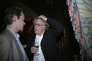 Frank Cohen, Party for Jean Pigozzi hosted by Ivor Braka to thank him for the loan exhibition 'Popular Painting' from Kinshasa'  at Tate Modern. Cadogan sq. London. 29 May 2007.  -DO NOT ARCHIVE-© Copyright Photograph by Dafydd Jones. 248 Clapham Rd. London SW9 0PZ. Tel 0207 820 0771. www.dafjones.com.