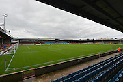 *** during the Sky Bet League 1 match between Scunthorpe United and Blackpool at Glanford Park, Scunthorpe, England on 5 September 2015. Photo by Ian Lyall.