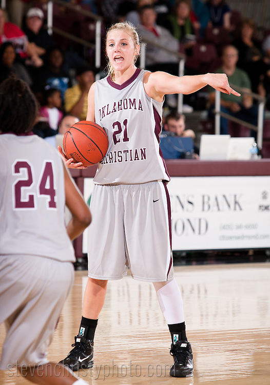 November 22, 2010: The NW Oklahoma State Lady Rangers play against the Oklahoma Christian University Lady Eagles at the Eagles Nest on the campus of Oklahoma Christian University.