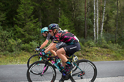 Leah Thorvilson (USA) of CANYON//SRAM Racing rides mid-pack on Stage 2 of the Ladies Tour of Norway - a 140.4 km road race, between Sarpsborg and Fredrikstad on August 19, 2017, in Ostfold, Norway. (Photo by Balint Hamvas/Velofocus.com)