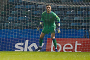 Gillingham goalkeeper Tomas Holy (1), Sky Bet advertising, during the EFL Sky Bet League 1 match between Gillingham and Wycombe Wanderers at the MEMS Priestfield Stadium, Gillingham, England on 15 December 2018.