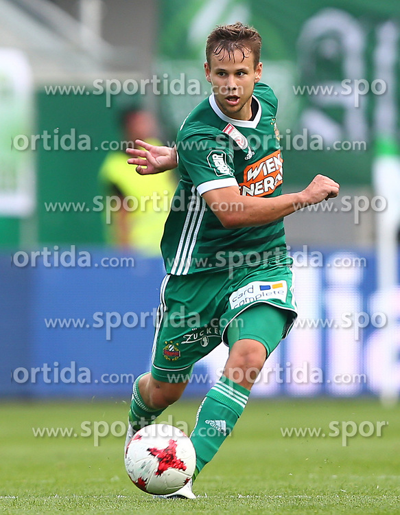 09.07.2017, Allianz Stadion, Wien, AUT, Testspiel, SK Rapid Wien vs AS Monaco, im Bild Louis Schaub (SK Rapid Wien) // during friendly Football Bundesliga Match, between SK Rapid Vienna and AS Monaco at the Allianz Arena, Vienna, Austria on 2017/07/09. EXPA Pictures © 2017, PhotoCredit: EXPA/ Thomas Haumer