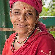Farmer Yam Kala Regmi, Syangja, Nepal