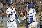 Apr 1, 2018-MLB-San Franisco Giants at Los Angeles Dodgers