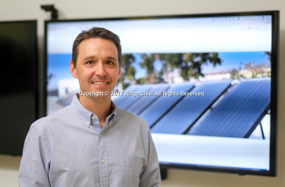 Adam Boucher, co-founder and chief executive of Promise Energy.  (Photo by Ringo Chiu)<br /> <br /> Usage Notes: This content is intended for editorial use only. For other uses, additional clearances may be required.