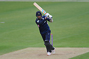 Steven Finn of Middlesex batting during the Royal London One Day Cup match between Hampshire County Cricket Club and Middlesex County Cricket Club at the Ageas Bowl, Southampton, United Kingdom on 23 April 2019.
