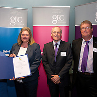 Images from the 2014 GTSC Probabtion Event Pictured are Jackie Brock (Chief Executive of Children First), Lorna Luke (East Ayrshire),,Ken Muir (Chief Executive GTCS) and Derek Thompson (Convener GTCS). Thursday 12th June 2014.
