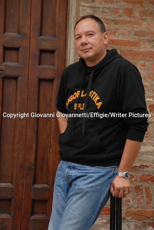 Pavicic Jurica, Festivaletteratura Mantova<br /> 05 September 2014<br /> <br /> Photograph by Giovanni Giovannetti/Effigie/Writer Pictures <br /> <br /> NO ITALY, NO AGENCY SALES