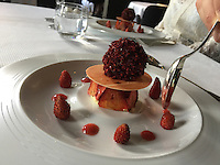 dessert at restaurant Guy Savoy