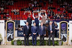 Voutaz, Jerome (SUI);<br /> Exell, Boyd (AUS);<br /> Ronde, Koos de (NED) <br /> Göteborg - Gothenburg Horse Show FEI World Cups 2017<br /> © Stefan Lafrentz