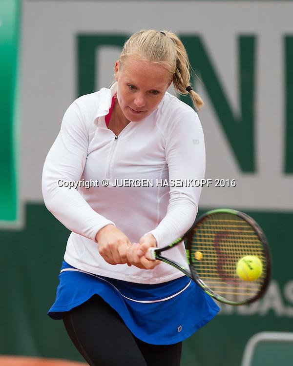 Kiki Bertens (NED)<br /> <br /> Tennis - French Open 2016 - Grand Slam ITF / ATP / WTA -  Roland Garros - Paris -  - France  - 2 June 2016.