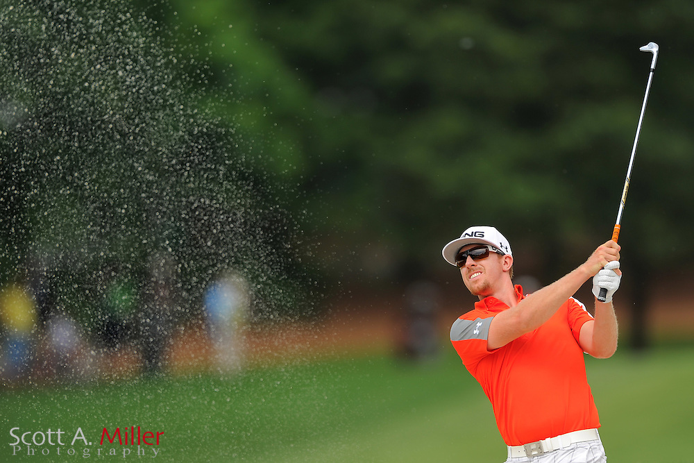 Hunter Mahan during the third round of the Wells Fargo Championship at the Quail Hollow Club on May 5, 2012 in Charlotte, N.C. ..©2012 Scott A. Miller.