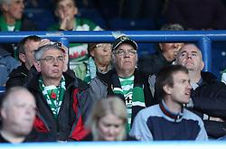 Yeovil fans at Elland Road-Photo mandatory by-line: Matt Bunn/JMP - Tel: Mobile: 07966 386802 02/11/2013 - SPORT - FOOTBALL - Elland Road - Leeds - Leeds United v Yeovil Town - Sky Bet Championship