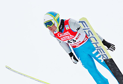 17.12.2011, Casino Arena, Seefeld, AUT, FIS Nordische Kombination, Probedurchgang, Ski Springen, im Bild Lukas Runggaldier (ITA) // Lukas Runggaldier of Italy during the trial round ski jumping at FIS Nordic Combined World Cup in Sefeld, Austria on 20111211. EXPA Pictures © 2011, PhotoCredit: EXPA/ P.Rinderer