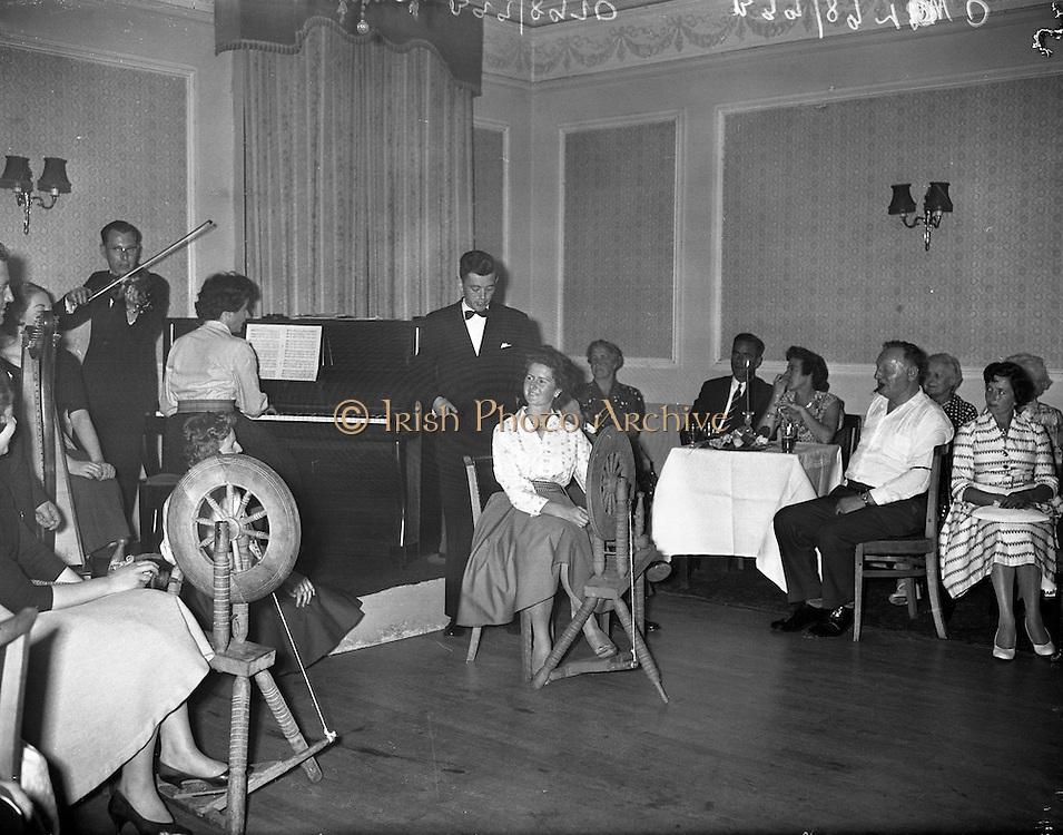 Special for Gael Linn - cabaret at Central Hotel, Dublin.09/07/1959