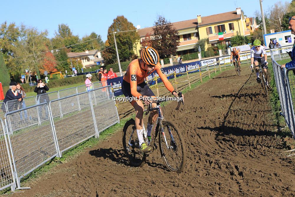 10-11-2019: Wielrennen: Europees Kampioenschap Veldrijden: Silvelle <br />Joost Brinkman