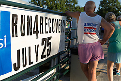 The 16th annual Shepherd's House Run For Recovery is made up of a 5K run and a 1 mile fun walk and is pet friendly was held,Saturday, July 25, 2015 at Keeneland Racecourse in Lexington.