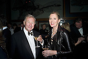 SIR TERENCE AND LADY CONRAN, Cartier Dinner to celebrate the re-opening of the Cartier U.K. flagship store, New Bond St. Natural History Museum. 17 October 2007. -DO NOT ARCHIVE-© Copyright Photograph by Dafydd Jones. 248 Clapham Rd. London SW9 0PZ. Tel 0207 820 0771. www.dafjones.com.