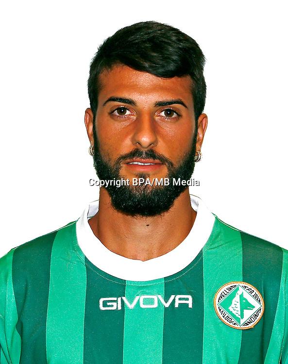 Italian League Serie B -2016-2017 / <br /> ( U. S. Avellino 1912 ) - <br /> Daniele Verde