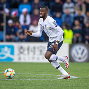 ANDORRA LA VELLA, ANDORRA. June 1.  Tanguy Ndombele #21 of France in action during the Andorra V France 2020 European Championship Qualifying, Group H match at the Estadi Nacional d'Andorra on June 11th 2019 in Andorra (Photo by Tim Clayton/Corbis via Getty Images)