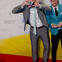 Said the Whale /JUNO AWARDS RED CARPET 2013