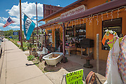 The Painted Lizard antiques and gift shop in Yarnell, Arizona.