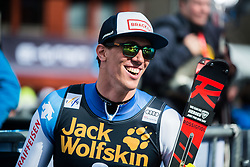 Winner ZENHAEUSERN Ramon of Switzerland during the Audi FIS Alpine Ski World Cup Men's Slalom 58th Vitranc Cup 2019 on March 10, 2019 in Podkoren, Kranjska Gora, Slovenia. Photo by Matic Ritonja / Sportida