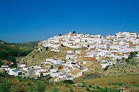 Espagne, Andalousie,  Sierra de Ronda, le village blanc de Setenil // White village of Setenil.  Sierra de Ronda, Andaloucia. Spain