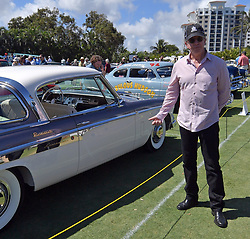 "February 25, 2018 - Boca Raton, Florida, United States Of America - BOCA RATON, FL- FEBRUARY 25: Jay Leno, Wayne Carini and actor Tim Allen judge and host 175 of the finest collector cars and motorcycles from around the country will gather on the show field at the famed Boca Raton Resort & Club. On display at this year's Concours will be an exquisite collection of AACA ""Cars through the Decades,"" and Lincoln-Mercury vehicles.  The judging process will combine a point/percentage system, along with the Modified French Rule evaluation criteria of the cars condition, authenticity/originality, and appeal in the following areas: the vehicle's exterior, its interior area, the engine area, and the overall presentation, visual impact, and significance of the car at the Boca Raton Resort & Club on February 25, 2018 in Boca Raton, Florida...People:  Tim Allen. (Credit Image: © SMG via ZUMA Wire)"
