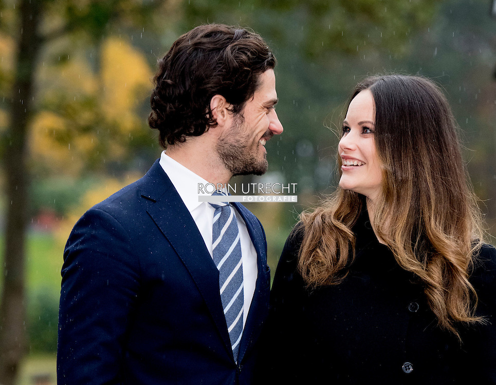 21-10-2016 S&auml;ffle  SWEDEN - Prince Carl Philip and Princess Sofia &rsquo;s official visit to V&auml;rmland 21 October 2016 S&auml;ffle Municipality is a municipality in the county of V&auml;rmland.The Prince couple will end their visit in S&auml;ffle with a visit to the company SOMAS. The company is one of the world leading companies in regulating and shutoff valves to the international pulp and paper industry. The company was founded in 1945. COPYRIGHT ROBIN UTRECHT<br /> Prins Carl Philip en Princess Sofia 's officieel bezoek aan V&auml;rmland 21 oktober 2016