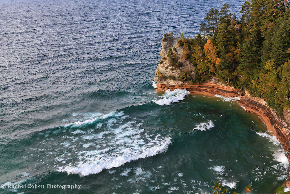 &quot;Windy Day at Miners Castle&quot;<br />