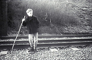 Neville by railway, High Wycombe, UK, 1980s