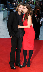 © Licensed to London News Pictures. 16/10/2016. London, UK. SHARLOTO COPLEY and TANIT PHOENIX attend the film premiere of Free Fire showing at The London Film Festival. Ray Tang/LNP