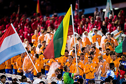 Flag of Lithuania at Closing Ceremony during Day 11 of the Rio 2016 Summer Paralympics Games on September 18, 2016 in Maracanã Stadium, Rio de Janeiro, Brazil. Photo by Vid Ponikvar / Sportida