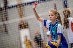 18-02-2017 NED:  Halve Finale NJOK, Houten<br /> In sporthal de kruisboog worden de wedstrijden gespeeld door CMV meisjes en jongens / Flamingo's