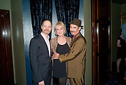 DAVID HYDE PIERCE; JOANNA LUMLEY; MARK RYLANCE, LA BæTE PRESS NIGHT, COMEDY THEATRE, PANTON STREET, SW1 After party at CafŽ de Paris, 3-4 Coventry Street, 7 July 2010. .-DO NOT ARCHIVE-© Copyright Photograph by Dafydd Jones. 248 Clapham Rd. London SW9 0PZ. Tel 0207 820 0771. www.dafjones.com.<br /> DAVID HYDE PIERCE; JOANNA LUMLEY; MARK RYLANCE, LA BÊTE PRESS NIGHT, COMEDY THEATRE, PANTON STREET, SW1 After party at Café de Paris, 3-4 Coventry Street, 7 July 2010. .-DO NOT ARCHIVE-© Copyright Photograph by Dafydd Jones. 248 Clapham Rd. London SW9 0PZ. Tel 0207 820 0771. www.dafjones.com.