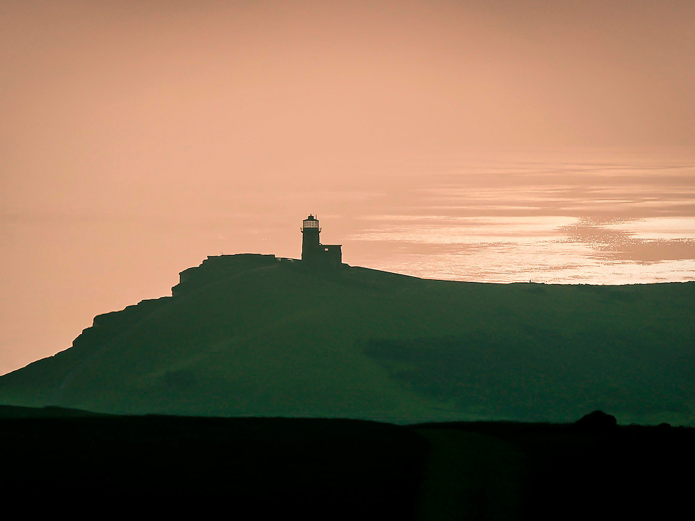 The Belle Tout Lighthouse on the southcoast of England. The lighthouse has seen a lot of history, including damage during the Second World War and a complete relocation due to erosion of the cliffs nearby.