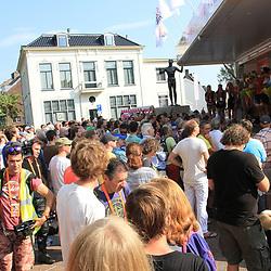 29-08-2017: Wielrennen: Boels Ladies Tour: Wageningen: Sfeer: Start