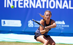 LIVERPOOL, ENGLAND - Friday, June 22, 2018: Ellie Tsimbilakis (GBR) during day two of the Williams BMW Liverpool International Tennis Tournament 2018 at Aigburth Cricket Club. (Pic by Paul Greenwood/Propaganda)