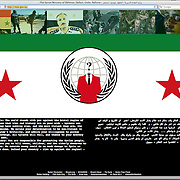 2011080801-Anonymous Hackers deface Syrian government website