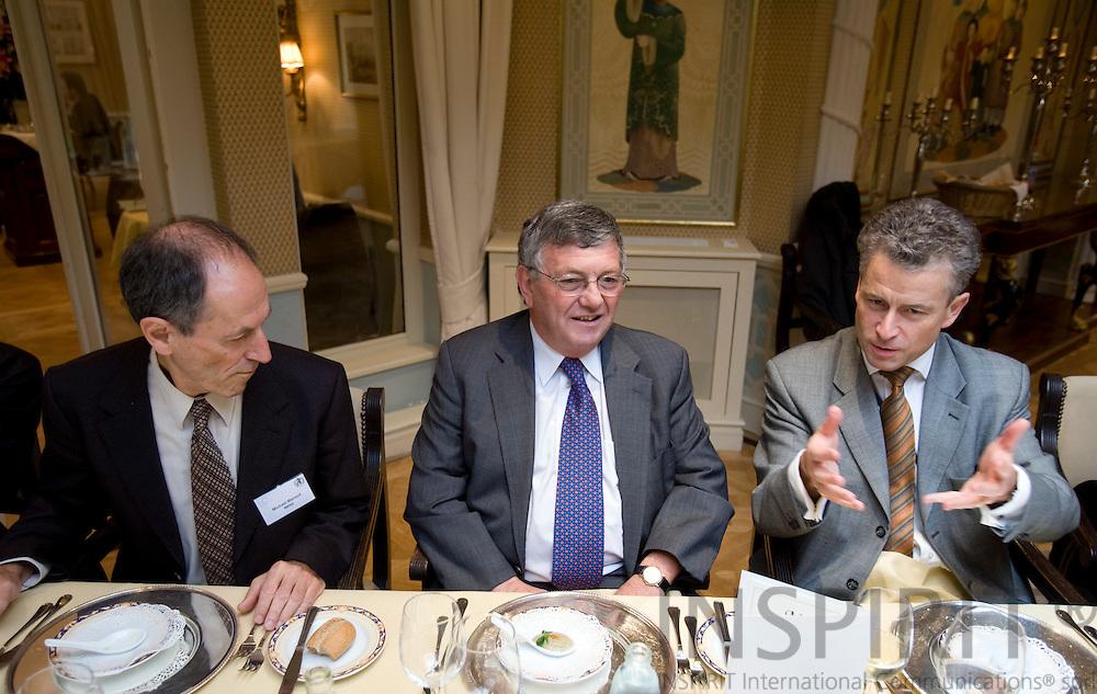 BRUSSELS - BELGIUM - 16 OCTOBER 2007 -- EU and WHO seminar at Stanhope Hotel  Photo: Erik Luntang/INSPIRIT PHOTO